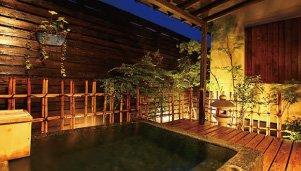 和室 秋桜 露天風呂
