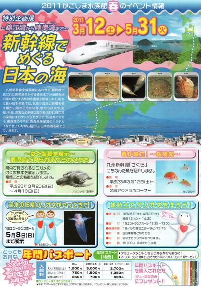 いおワールド鹿児島水族館 春休みイベント