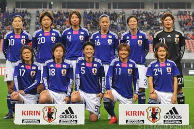 女子サッカー日本代表