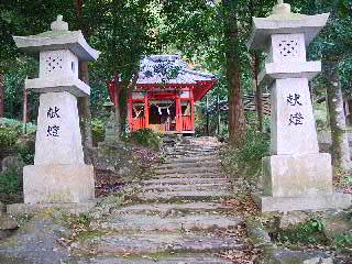 鹿児島神宮の本宮といわれる石體神社