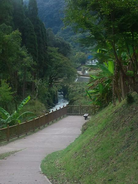 新川渓谷遊歩道