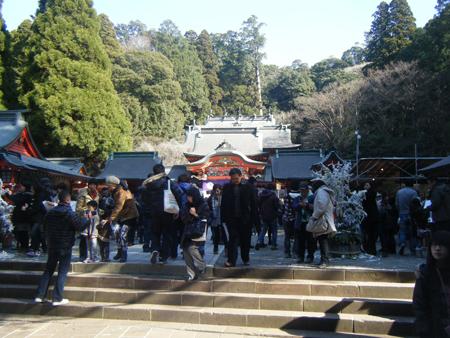 霧島神宮 初詣