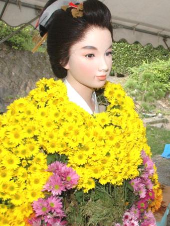 菊祭り、篤姫.jpg