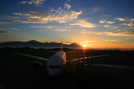 鹿児島空港 初日の出