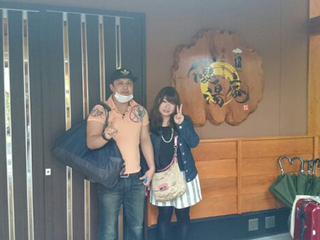 名古屋市よりカップル温泉旅行