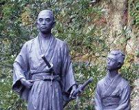 偉人も愛した《 鹿児島温泉最古の日当山温泉郷 》 坂本龍馬とお龍湯治碑