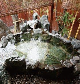 A1type露天風呂 (なでしこ)