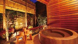 和洋室 菖蒲 露天風呂